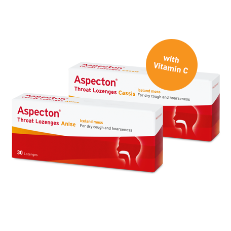 Aspecton Throat Lozenges Anise & Cassis